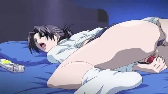 【エロアニメ 人妻】息子の性奴隷となった母とその妹